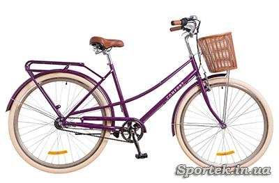 городской женский велосипед с планетарной втулкой