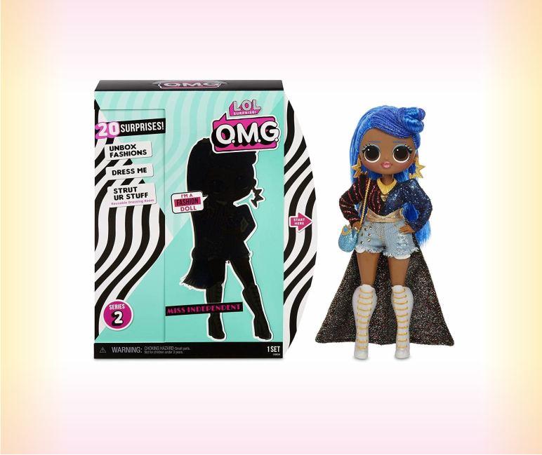 Кукла ЛОЛ O.M.G. - Miss Independent (2 серия)