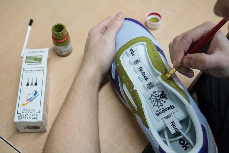 Покрасить кроссовки - 3