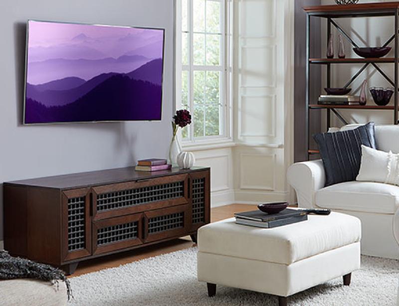 блики на телевизоре