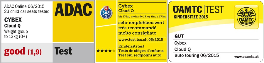 cybex cloud q crash tests