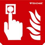 Стандартная пиктограмма пожарного указателя – Кнопка включения пожарной автоматики