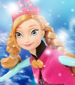 Красавица Анна Холодное Сердце, на коньках