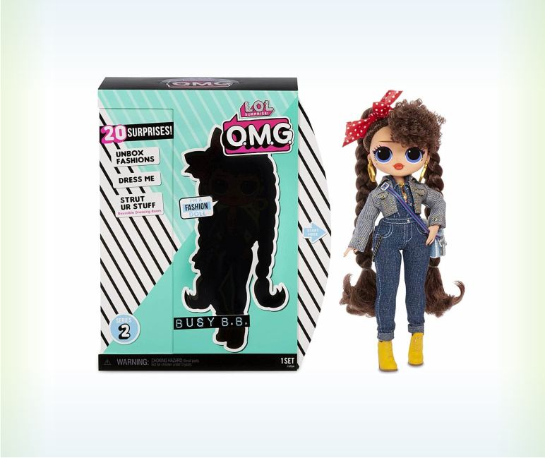 Куколка ЛОЛ O.M.G. Busy B.B. (2 серия)