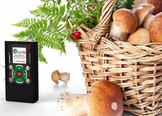 использование дозиметра EcoLifePro 1 простое и удобное