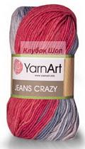 Пряжа Jeans Crazy YarnArt - купить в интернет-магазине недорого klubokshop.ru