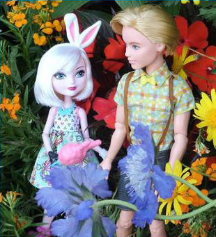 Банни Бланк и Алистер - Свидание, набор кукол
