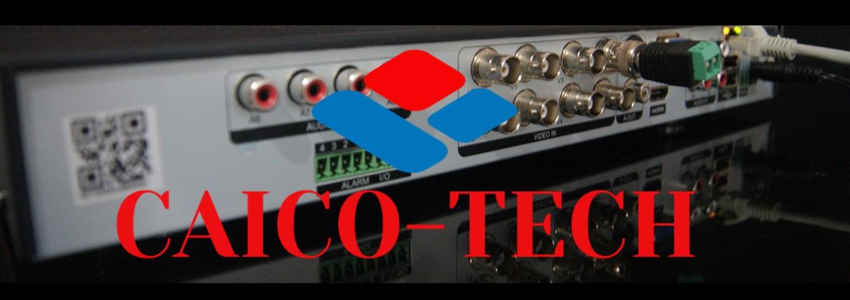 CAICO XVR 8 МП UHD видеонаблюдение