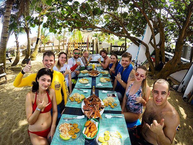 Ланч в перерыве между серфингом, Доминикана