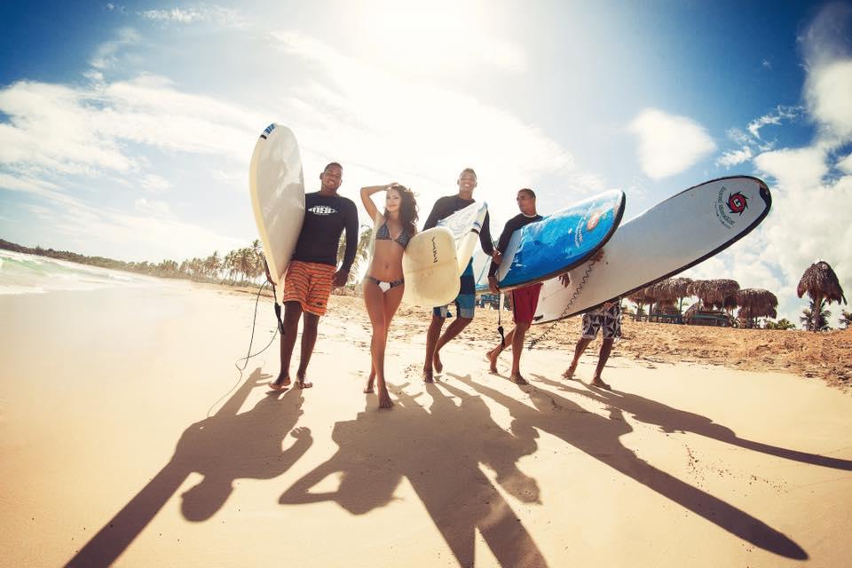 Обучение серфингу в Доминикане
