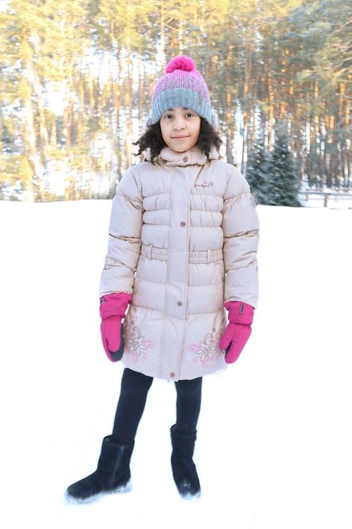 Пальто Premont Маршмеллоу Beige WP91352 для девочек в магазине Premont-shop