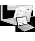 Идеально подходит для ноутбуков и нетбуков