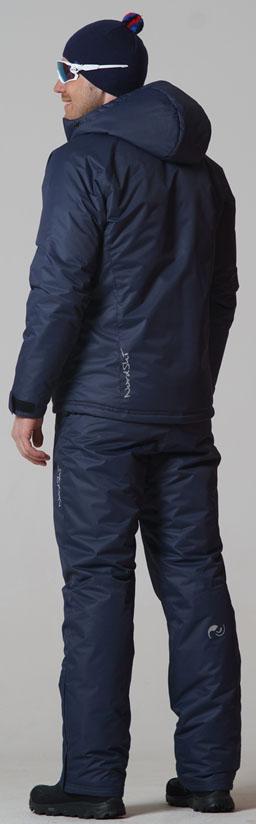 Утеплённый прогулочный лыжный костюм Nordski Motion Dark Navy мужской NSM422710 - SkiRunner.ru