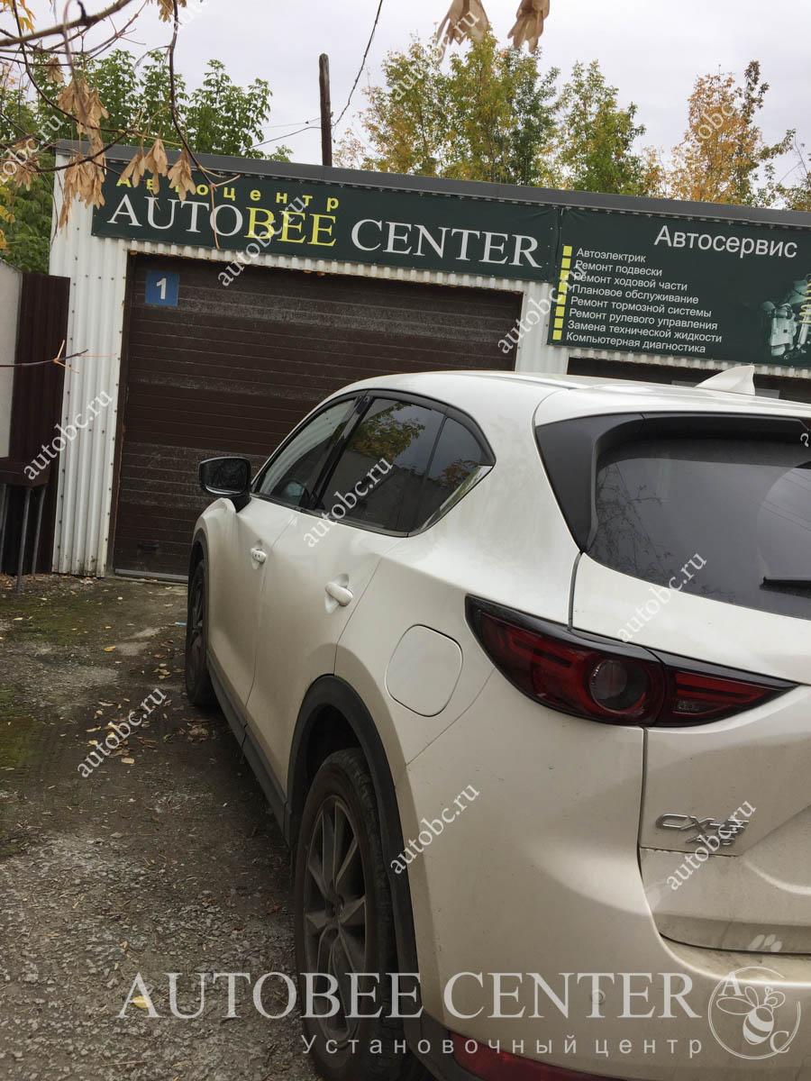 Mazda CX5 (защитная сетка на бампер)