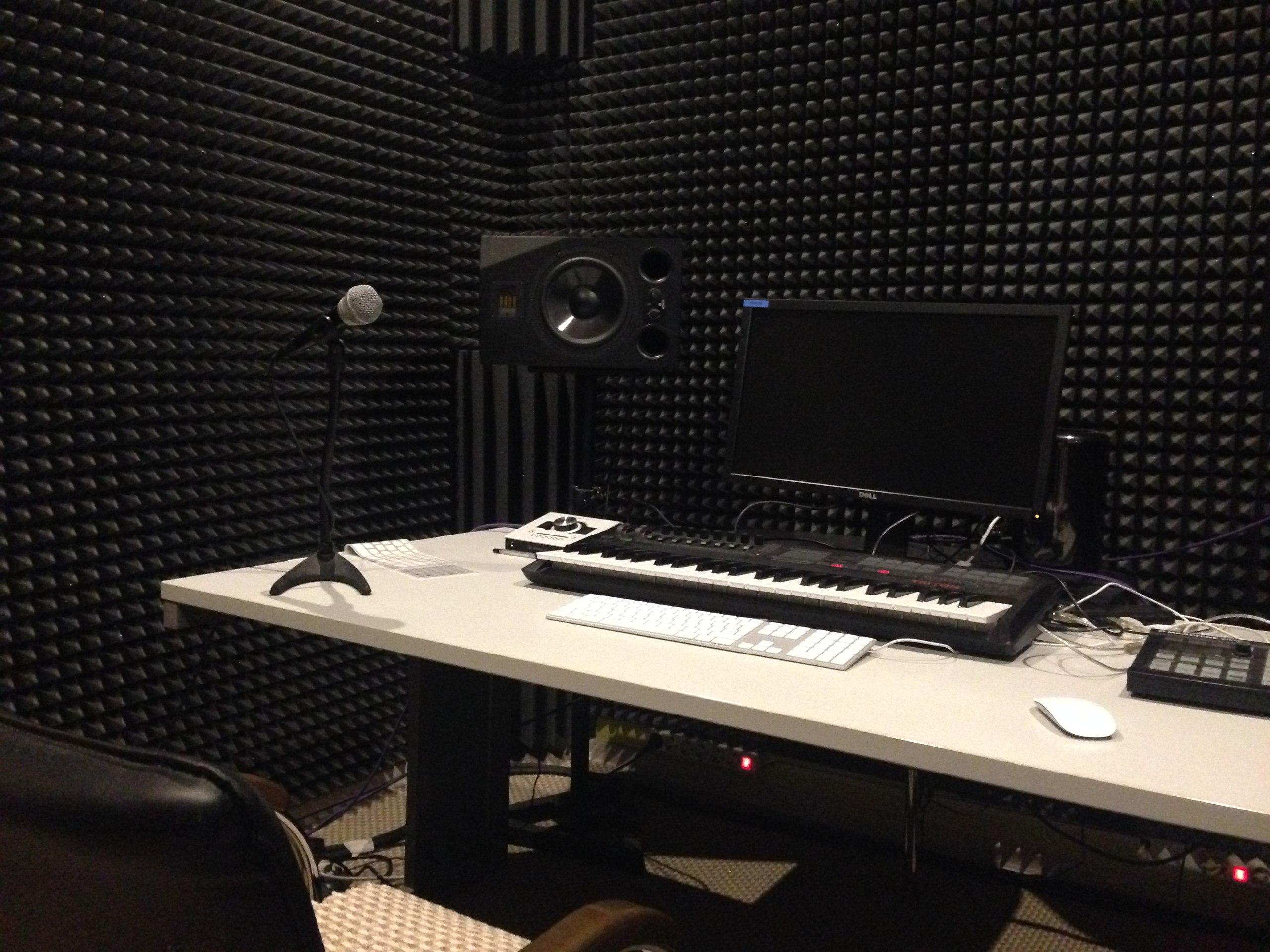 комната музыкальная студия