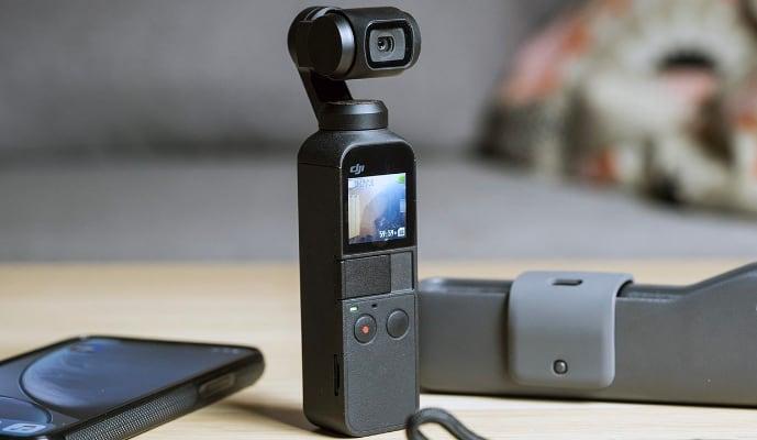 DJI OSMO Pocket с чехлом