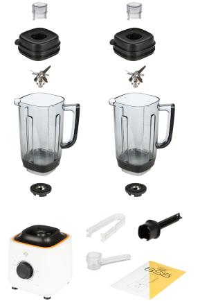 Комплектация блендера L'equip BS5 (белый, 2 чаши)