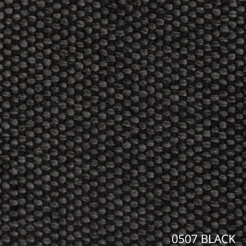 ткань АЗУР - черный цвет