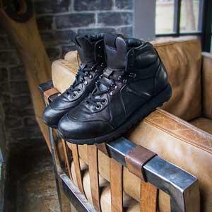 кожаные ботинки мужские