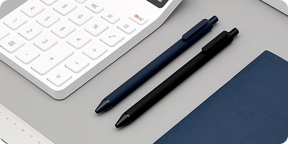 Набор гелевых ручек Xiaomi Kaco Pure Gel Ink Pen (черный)