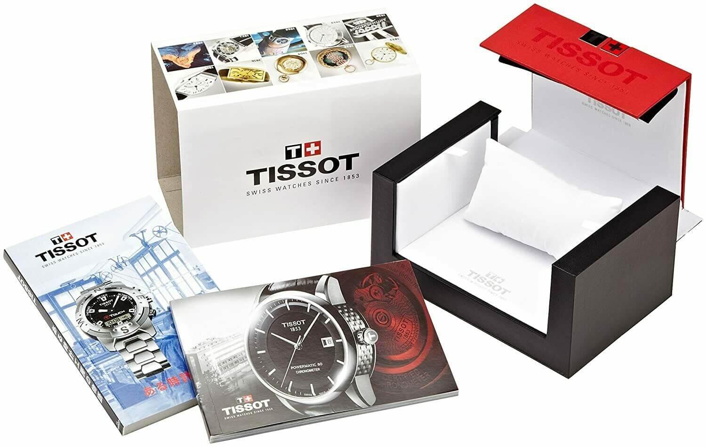 комплектация часов тиссот, коробка