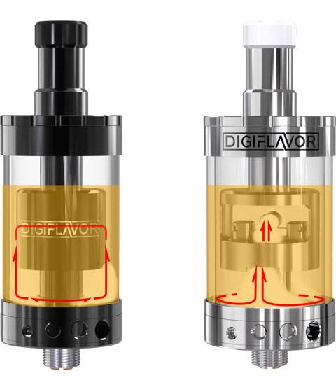 GTA Атомайзер Digiflavor Siren GTA&MTL сочетает в себе преимущества Вакуума и Genesis