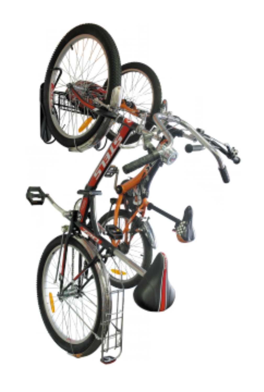 система хранения 2-х велосипедов с корзинкой