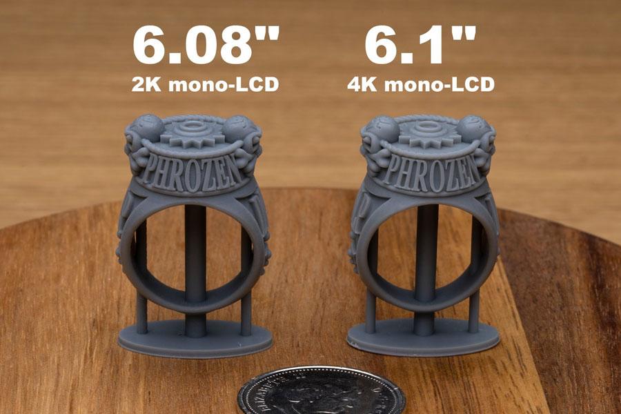 Посмотрите, насколько качественана печать на Phrozen Sonic Mini 4K