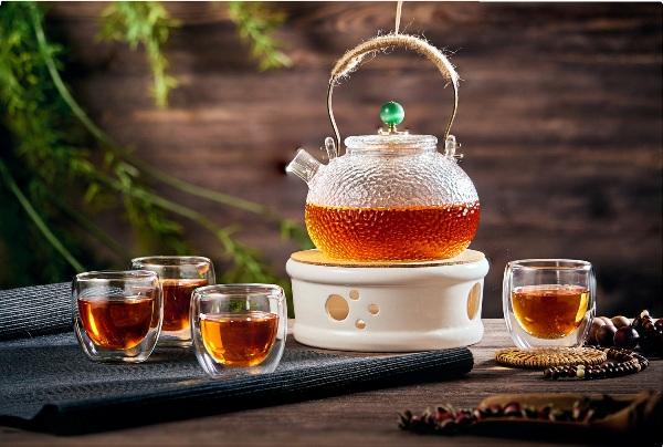 Стеклянная посуда для заваривания чая