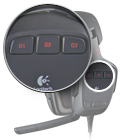Three customizable G-keys