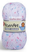 Пряжа Baby Color YarnArt - интернет-магазин klubokshop.ru