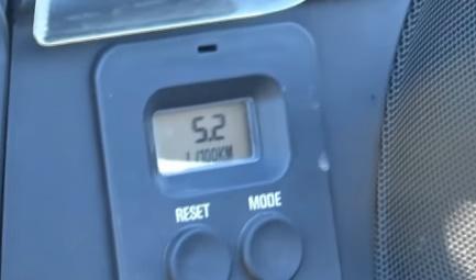 Средний показатель расхода топлива на мотоцикле