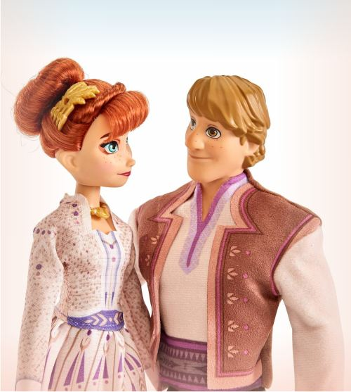 Набор кукол Анна и Кристофф из мультика Холодное сердце 2