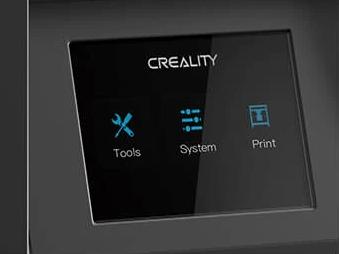 3,5-дюймовый дисплей для управления настройками и мониторинга печати в реальном времени.