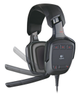 Rotating mic boom with auto-mute
