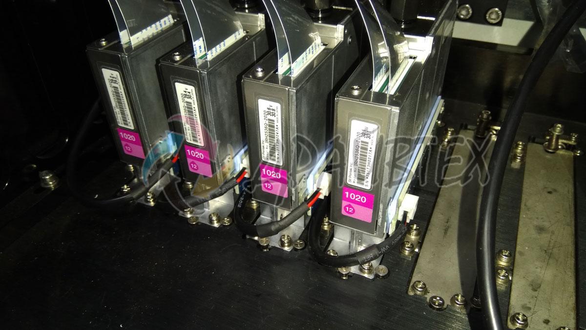 Высокоскоростные печатающие головки Seiko 1020 с каплей 12pl