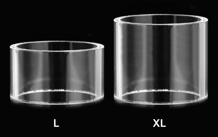 Размеры Запасного стекла SMOK для Micro TFV4 Plus