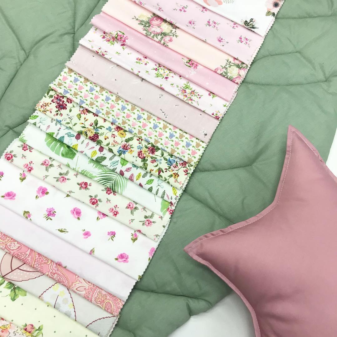 Купить ткань с цветочным принтом