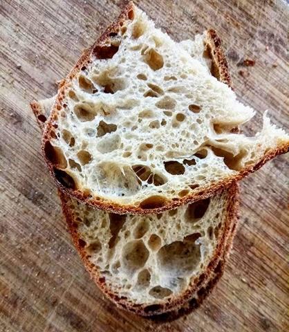 хлеб с пшеничной мукой Т-80, разрез