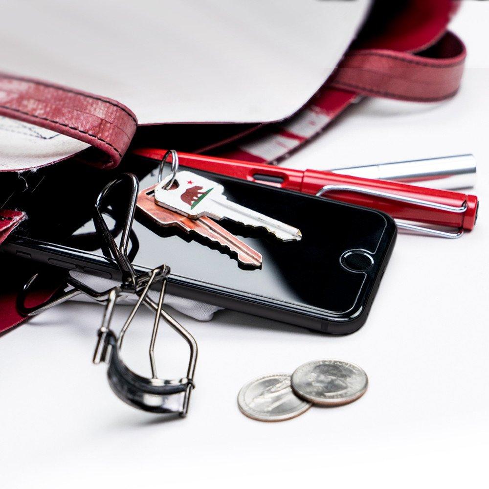 Противоударное стекло с олеофобным покрытием SpigenScreen Protector GLAS.tR SLIM HD 9H Hardness для iPhone 6 Plus / 6S Plus.