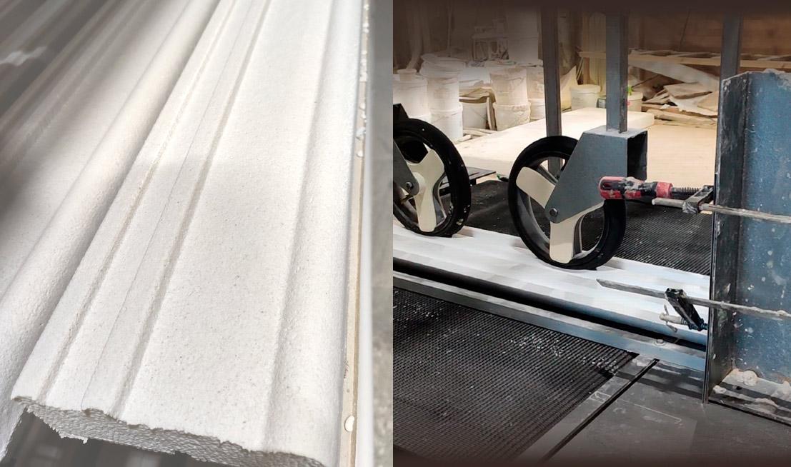 Покрытие полимер кварц жёсткий и станок для нанесения покрытия.