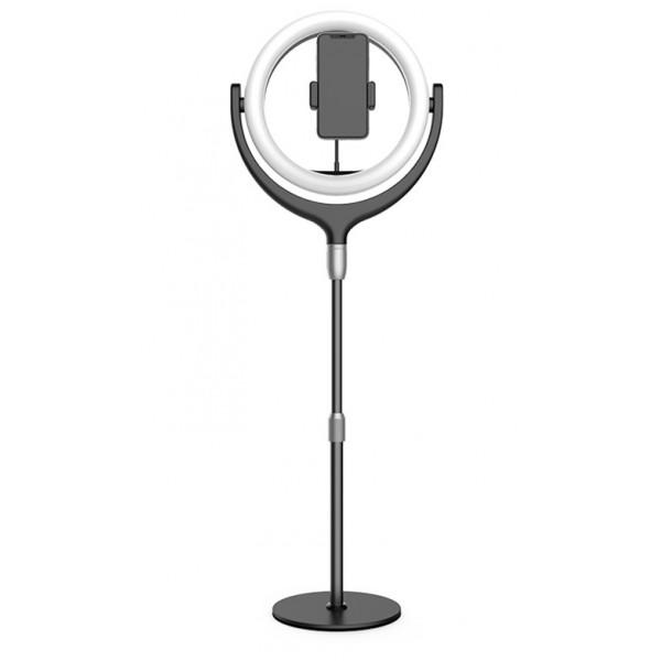 Кольцевые лампы - Светодиодная кольцевая лампа Totu 539А 30 см