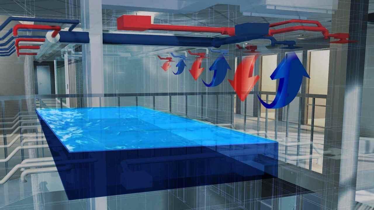 проектирование вентиляции для бассейна