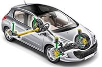 Ходовая система  легкового автомобиля