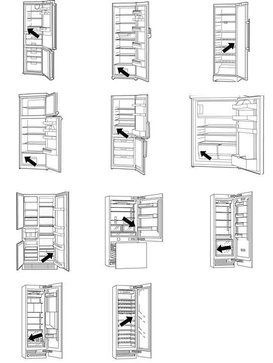 как найти номер и модель холодильника