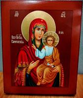 Икона Смоленской Божьей матери на заказ