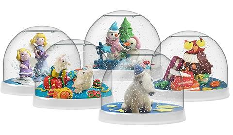 Снежный шар Создай Волшебный Шар Magic Moments