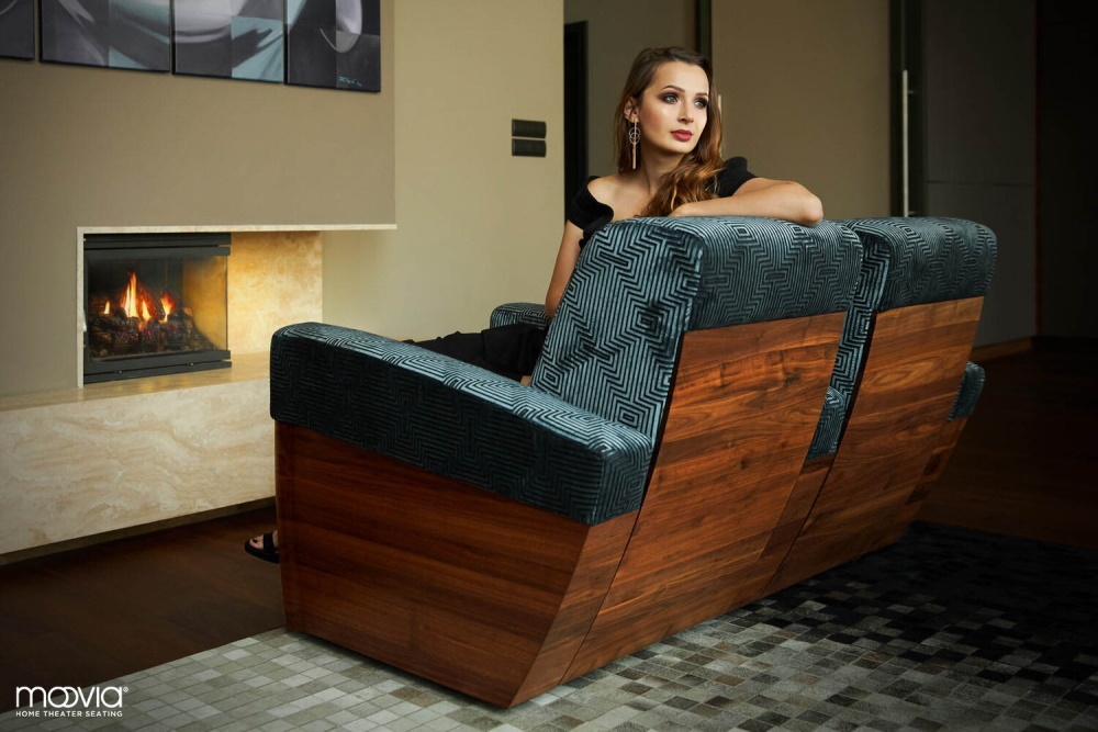 Кресла для домашнего кинотеатра Moovie Monaco