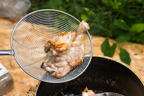 Рецепт плова с курицей в казане