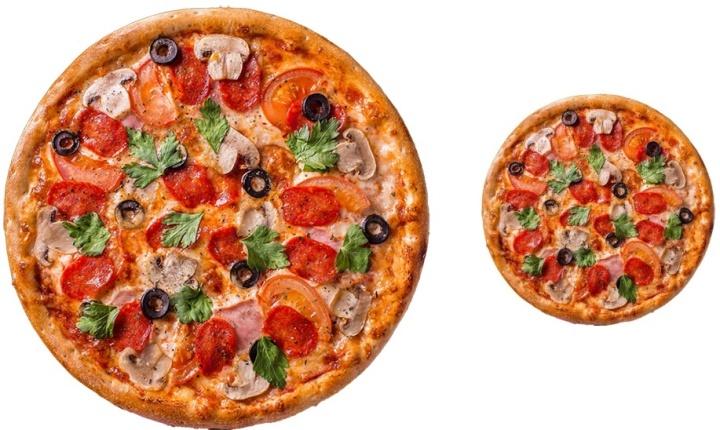 Размер пиццы имеет значение